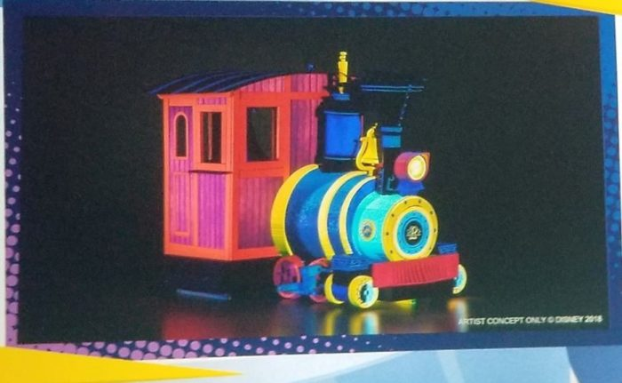 New Concept Art and Details For Mickey and Minnie's Runaway Railway 2
