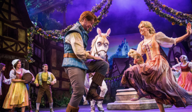 Tangled The Musical onboard the Disney Magic