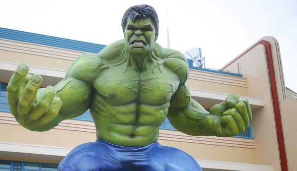 Two-Year-Old's Reaction to the Hulk Goes Viral
