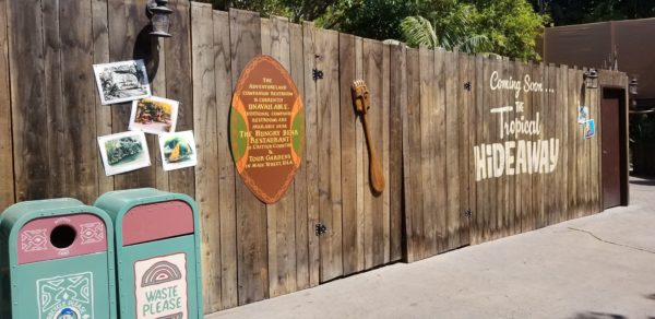Construction Update On The Tropical Hideaway At Disneyland 3