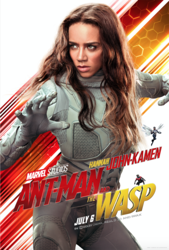 New Ant Man and the Wasp Movie Posters