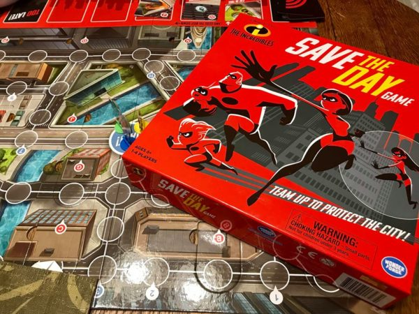 Save The Day, With The Incredibles 2 Board Game 1