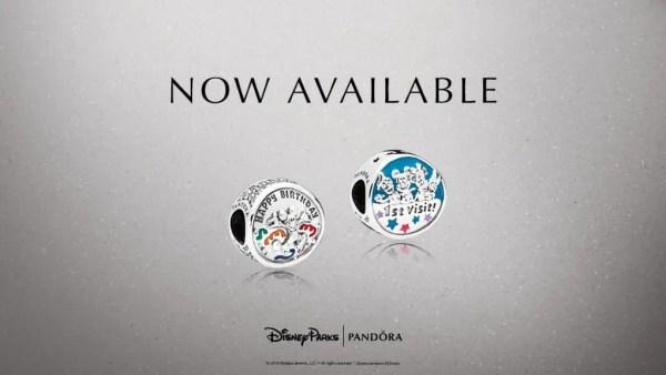 Disney Celebration Pandora Charms