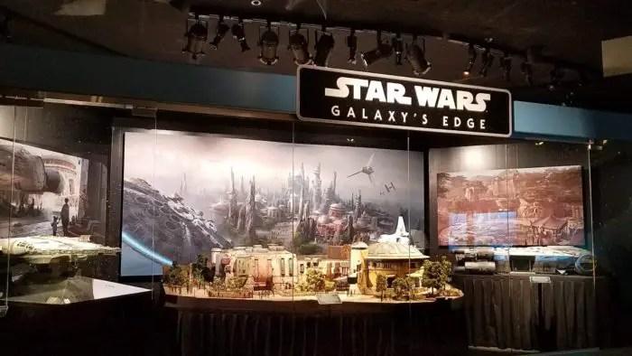 Star Wars: Galaxy's Edge models