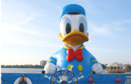 36 Foot Tall Donald Duck at Shanghai's Disney Town