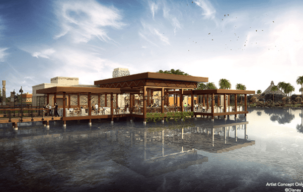 New Name and Images for Lakefront Dining at Coronado Springs Resort