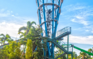 SeaWorld Orlando- World's Tallest River Rapids Attraction Reaches New Heights