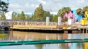PHOTOS: Update on the Generation Gap Bridge Disney Skyliner Construction 2