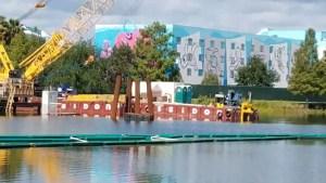 PHOTOS: Update on the Generation Gap Bridge Disney Skyliner Construction 4
