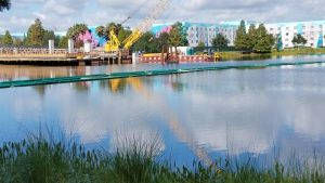 PHOTOS: Update on the Generation Gap Bridge Disney Skyliner Construction 7