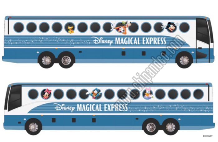 New Magical Express Buses