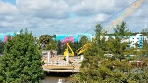 PHOTOS: Update on the Generation Gap Bridge Disney Skyliner Construction 9