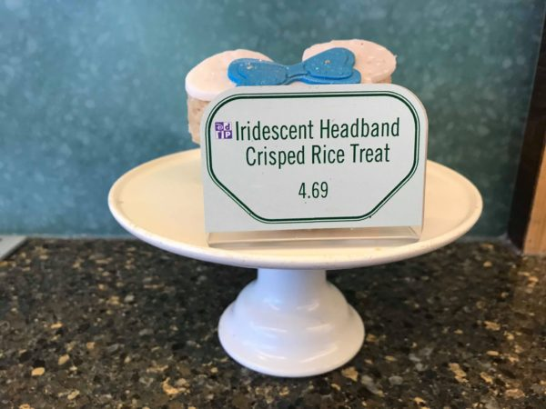 How Adorable is the Fountain View Crisped Rice Treat with an Iridescent Headband 3