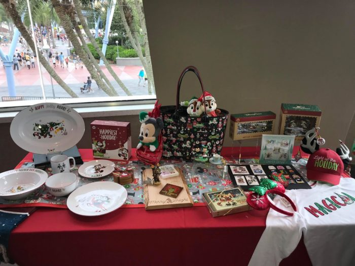 2018 Disney Holiday Merchandise