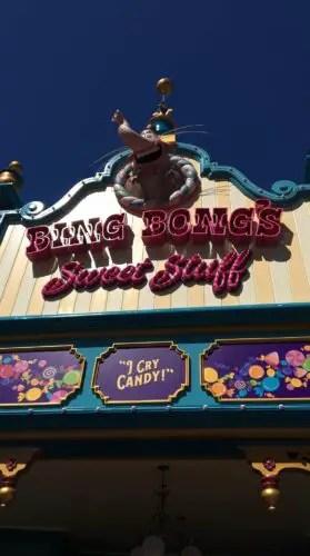 Bing Bong's Sweet Shop Now Open at Disney California Adventure's Pixar Pier 1