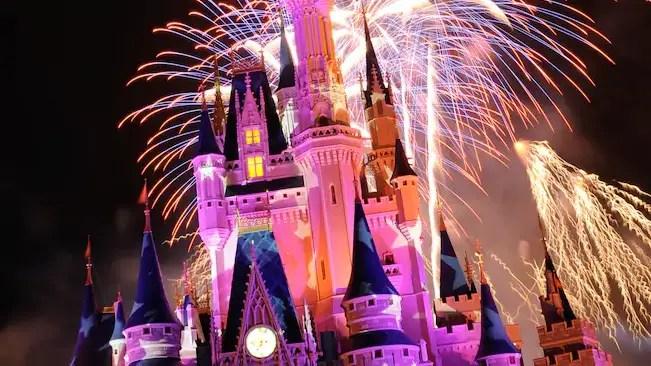 Fireworks From Magic Kingdom