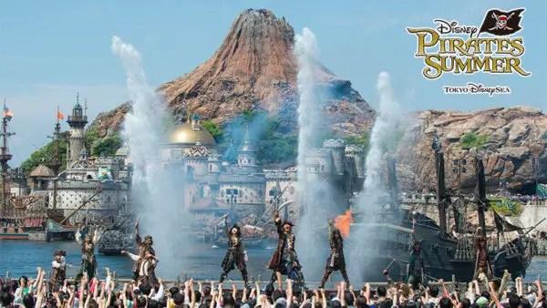 Tokyo DisneySea Disney Pirates Summer