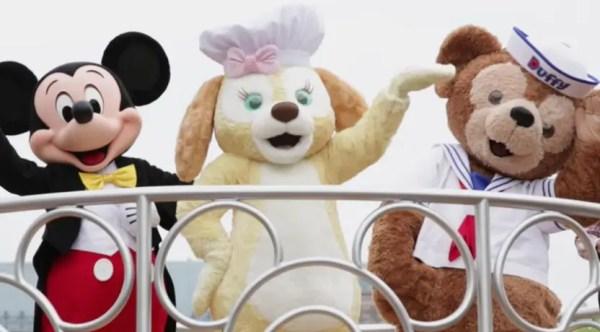 Cookie debuted at Hong Kong Disneyland today