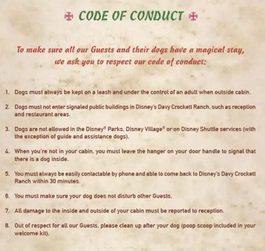 Can Dogs Stay At Davy Crockett Disneyland Paris