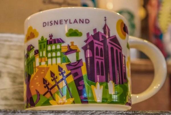 New Disneyland Starbucks Mug