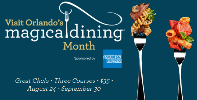 Visit Orlando S Magical Dining Month Menus Released For 2018