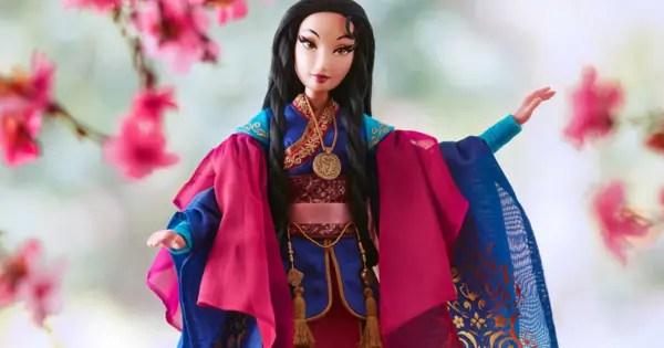 Mulan Disney Designer Doll