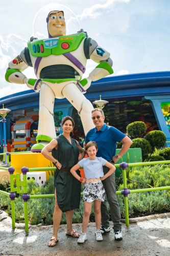VIDEO: Tim Allen Spends Time At Toy Story Land 3