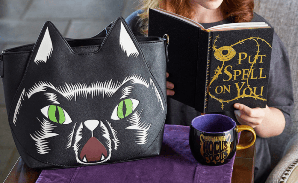 cast a spell with hocus pocus 25th anniversary merchandise chip and co