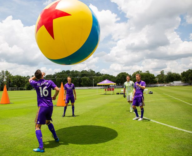 Orlando City Soccer Club Gets In On the Toy Story Land Fun 1