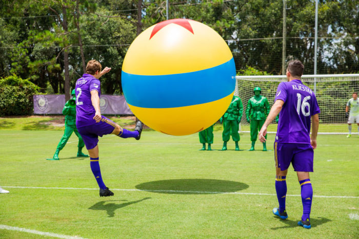Orlando City Soccer Club Gets In On the Toy Story Land Fun 3