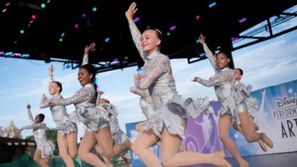 Disney Celebrates National Dance Day