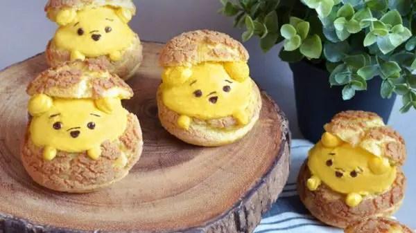 Winnie the Pooh Cream Puffs