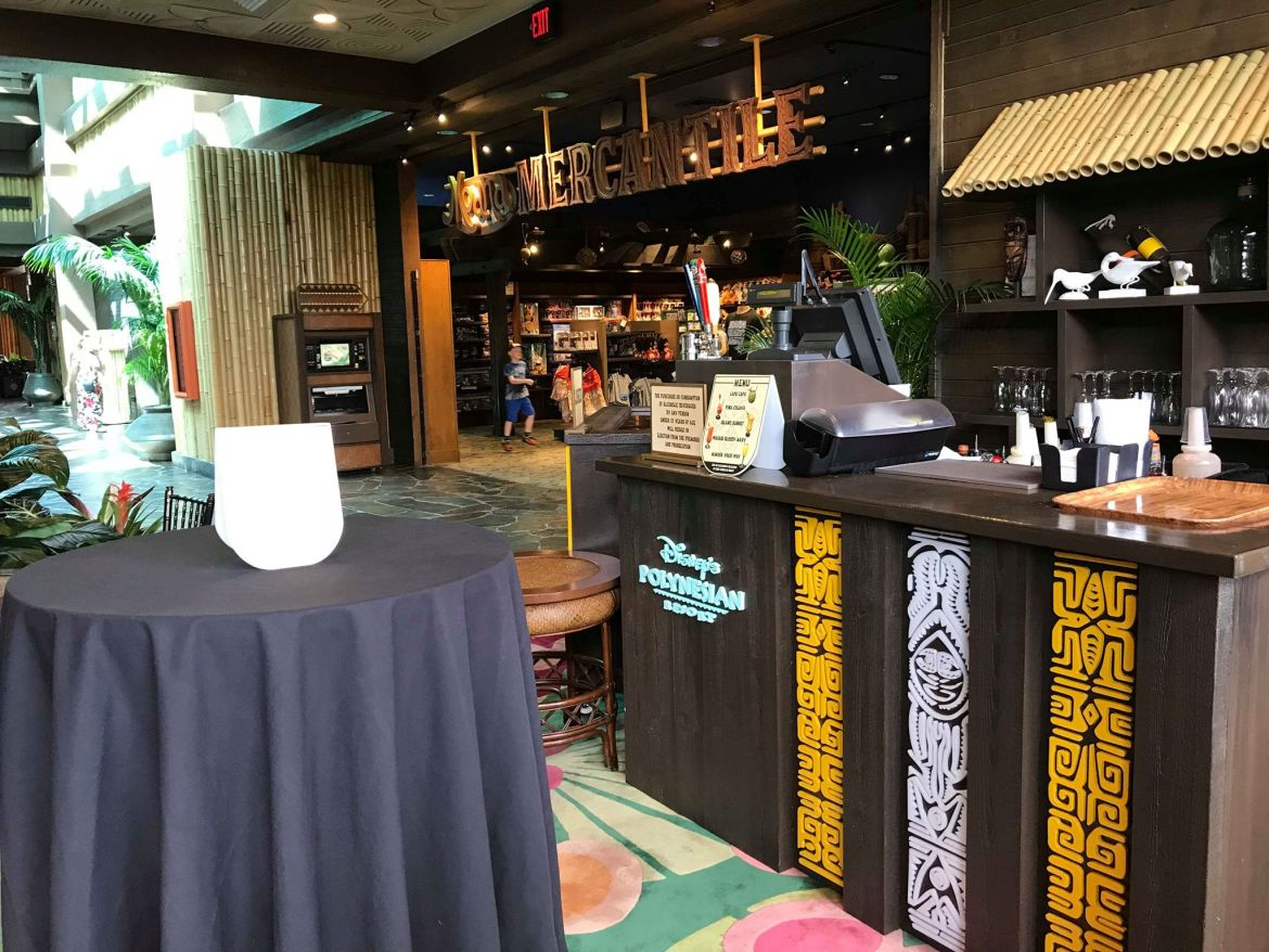 Two New Bars Pop-Up at Disney's Polynesian Village Resort