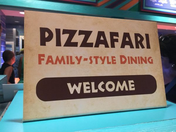 Pizzafari Family Style Dining Now Available