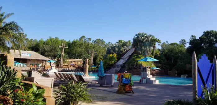 Coronado Springs Pool Closure