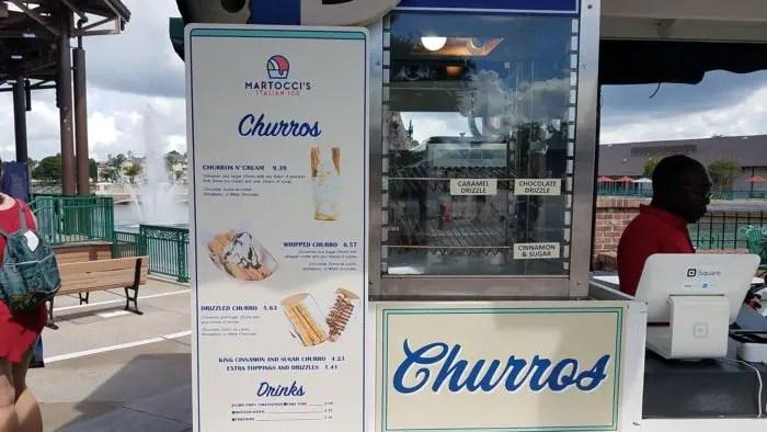 Churros N' Cream Sundae at Disney Springs 2