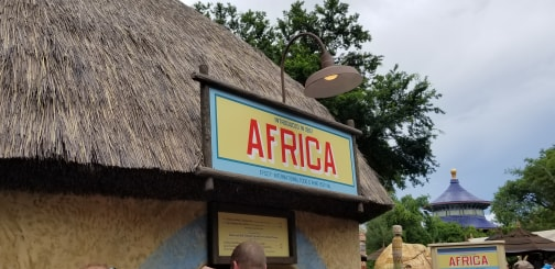 Africa Food Booth