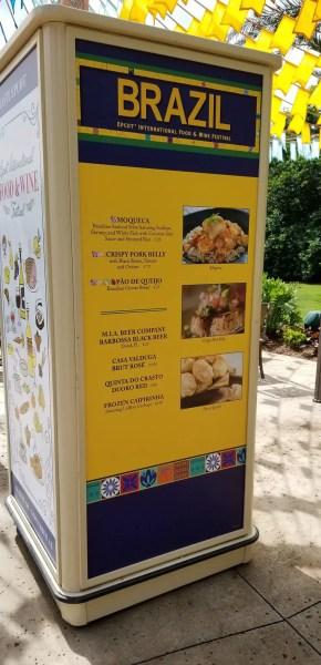 Brazil Food Booth