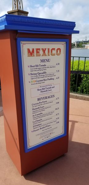 Mexico Food Booth