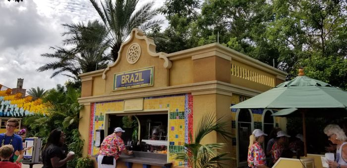 Brazil Food Booth