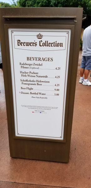 Brewer's Collection Food Booth