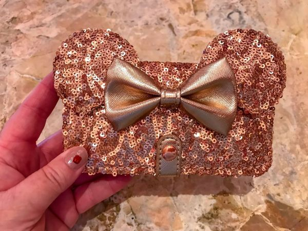 Rose Gold Minnie iPhone Wallet