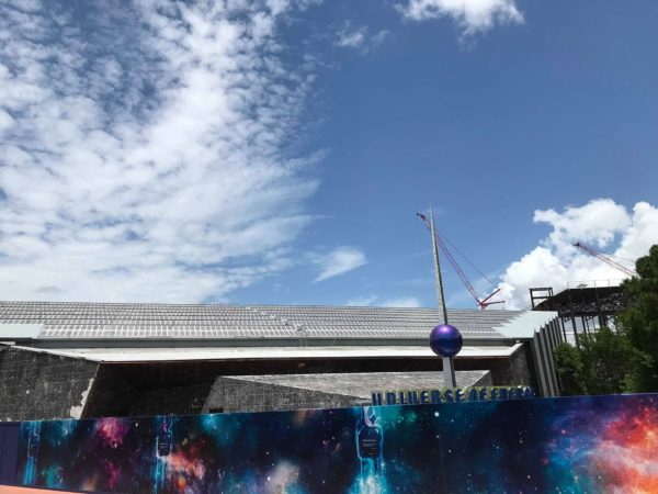 Mirrored Tiles Removed From Universe Of Energy At Epcot 1