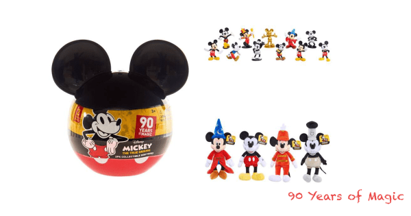 4f3178bc9ab New 90 Years Of Magic Mickey Mouse Anniversary Product Launches