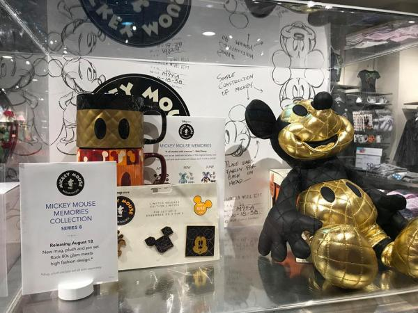 Golden Glam Mickey Memories Collection Coming to shopDisney 1