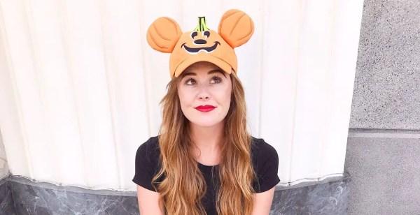 Pumpkin Mickey Hat