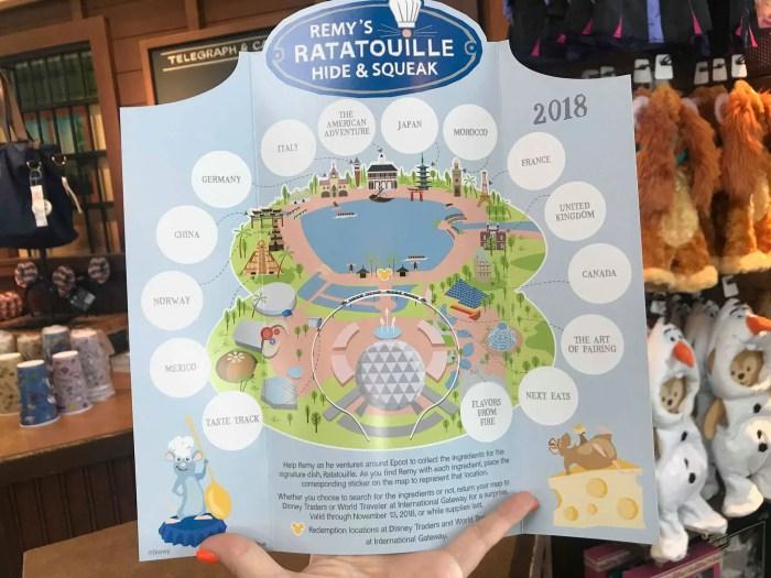 Ratatouille Hide & Squeak