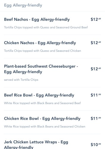 Allergy-Friendly Options Now Available for Mobile Order on the My Disney Experience App 2