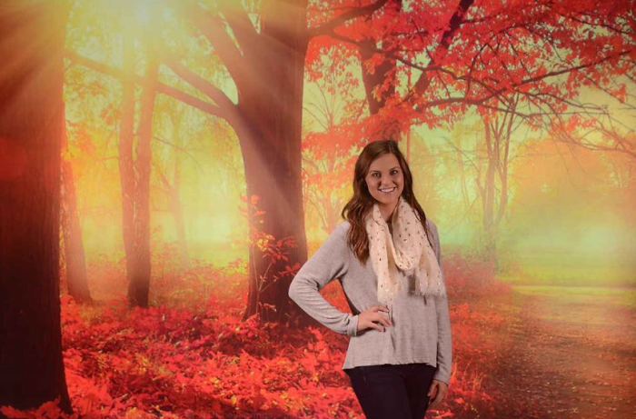 New Autumn and Spooky Backdrops at the Disney PhotoPass Studio