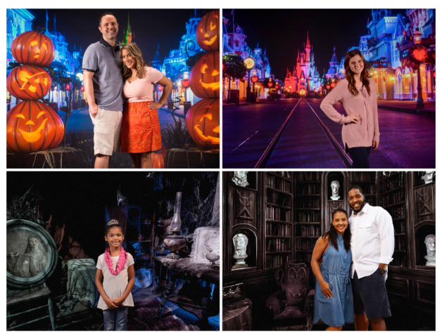 Autumn Backdrops are now available at Disney Springs Photo Pass Studio